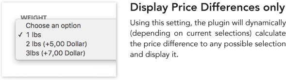 WooCommerce Variation Price Hints - 1