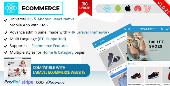 Ionic5 Ecommerce - Universal iOS & Android Ecommerce / Store Full Mobile App with Laravel CMS - 44