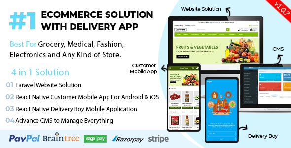 Ionic5 Ecommerce - Universal iOS & Android Ecommerce / Store Full Mobile App with Laravel CMS - 39