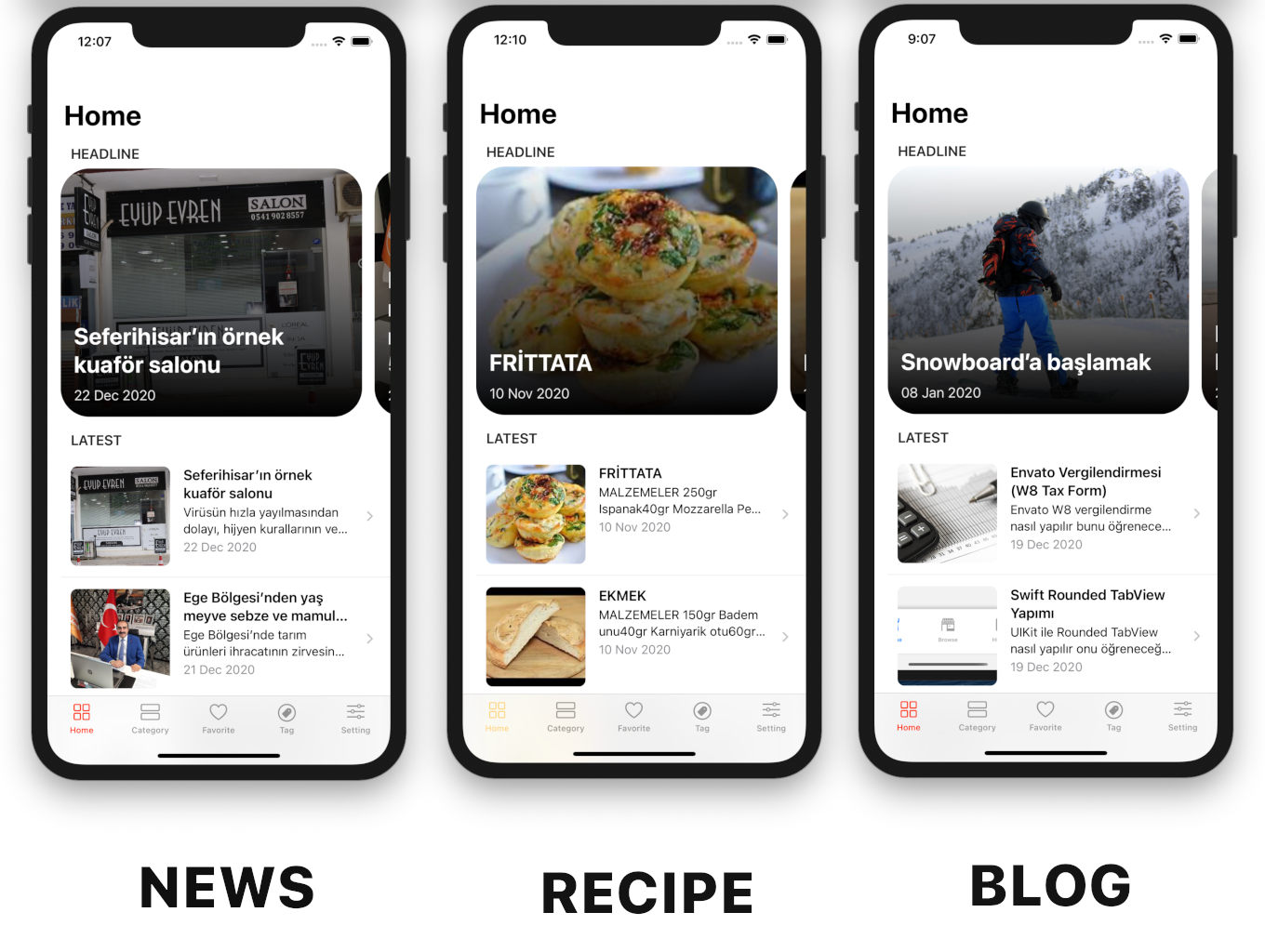 SwiftUI iOS WordPress App for Blog and News Site with AdMob, Firebase Push Notification and Widget - 12