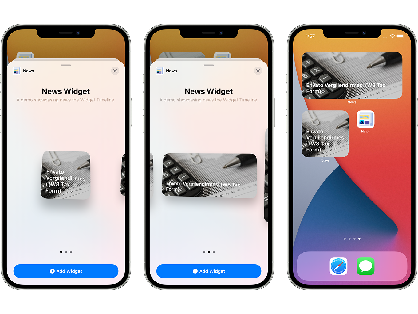SwiftUI iOS WordPress App for Blog and News Site with AdMob, Firebase Push Notification and Widget - 8