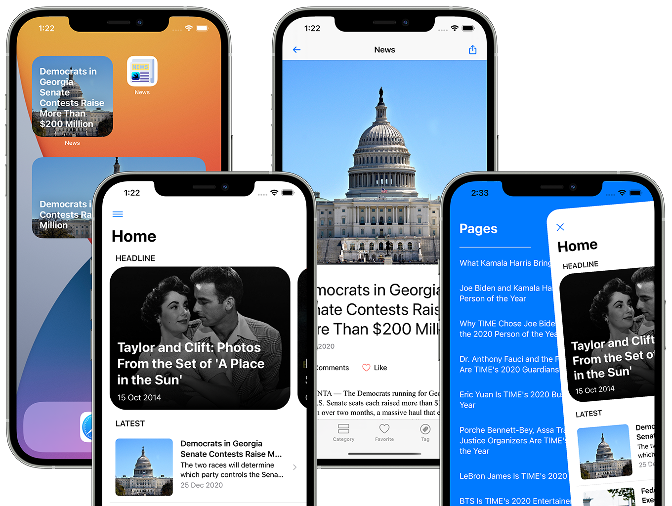 SwiftUI iOS WordPress App for Blog and News Site with AdMob, Firebase Push Notification and Widget - 13