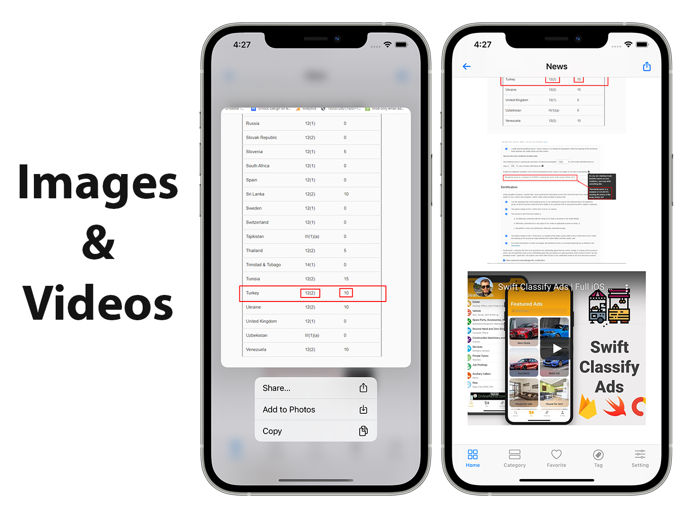 SwiftUI iOS WordPress App for Blog and News Site with AdMob, Firebase Push Notification and Widget - 10