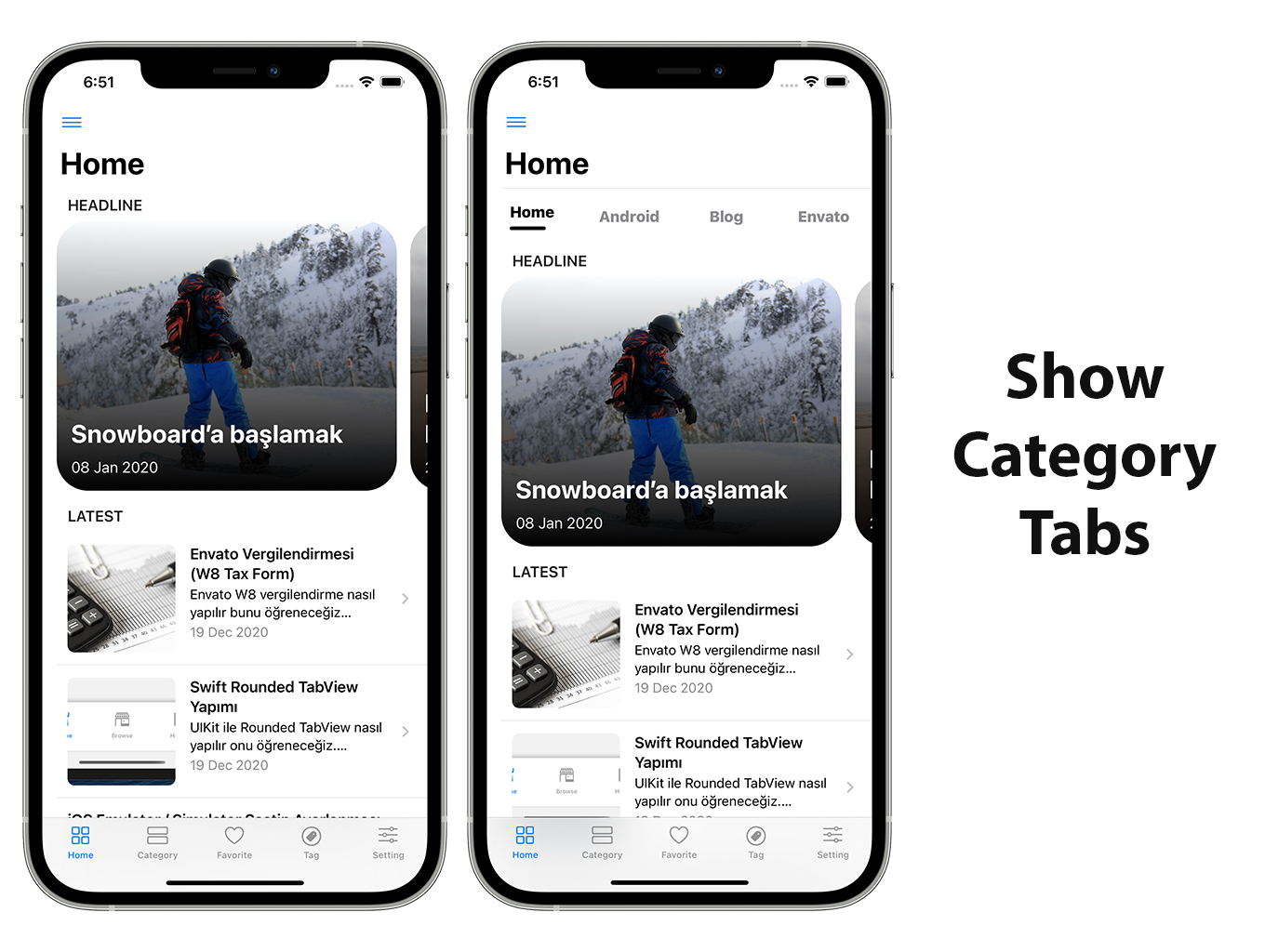 SwiftUI iOS WordPress App for Blog and News Site with AdMob, Firebase Push Notification and Widget - 9