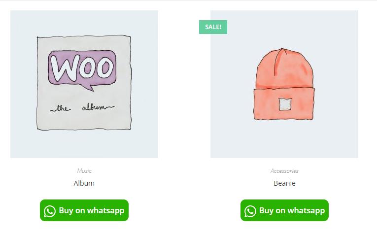 Woocommerce Orders on WhatsApp - 1