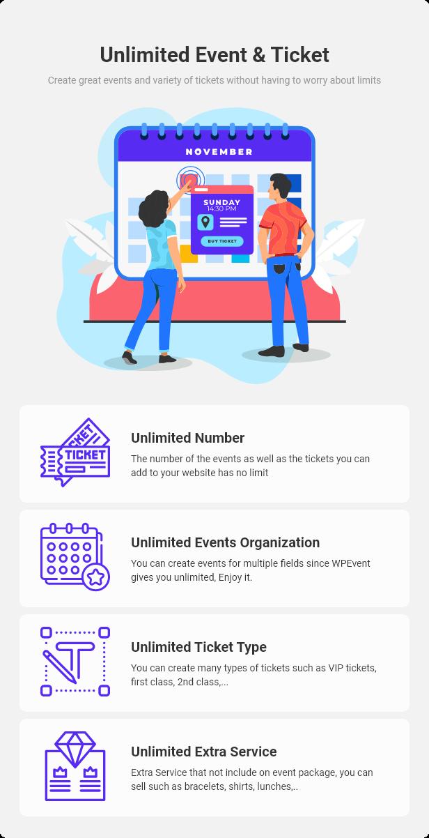 WPEvent – WooCommerce Event Ticket & Calendar - 15