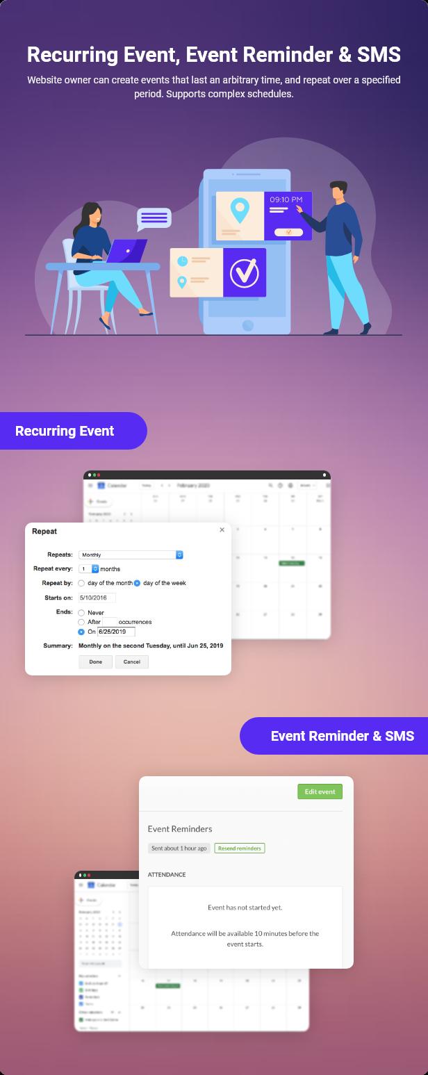 WPEvent – WooCommerce Event Ticket & Calendar - 16