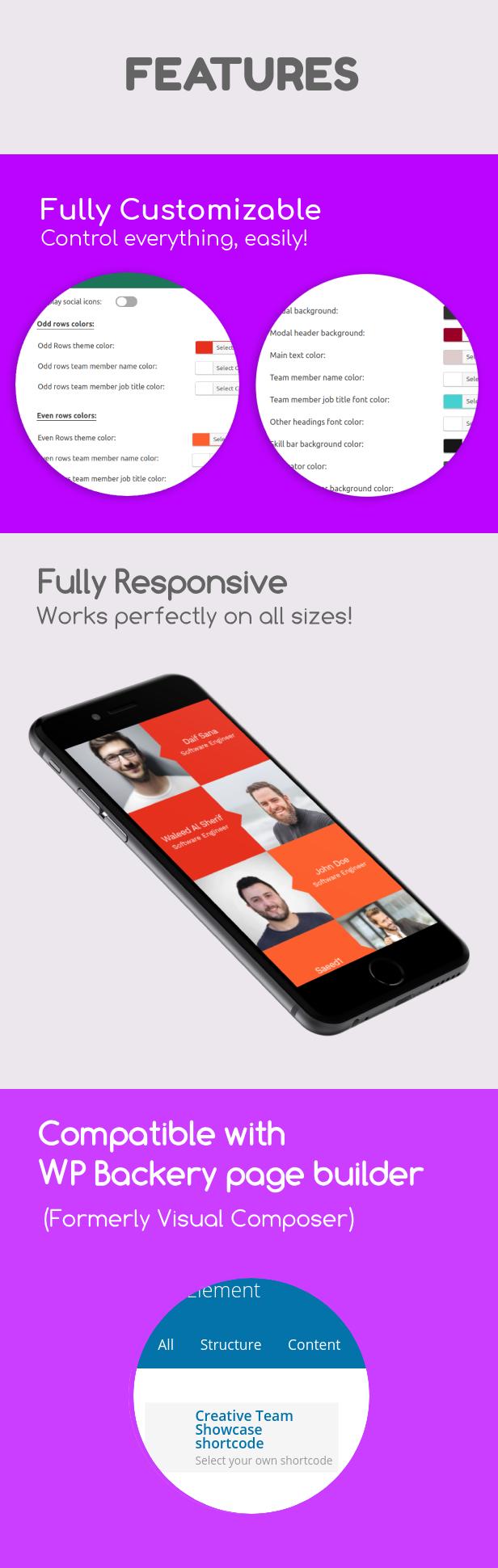Creative Team Showcase - Team Showcase Plugin for WordPress - 3