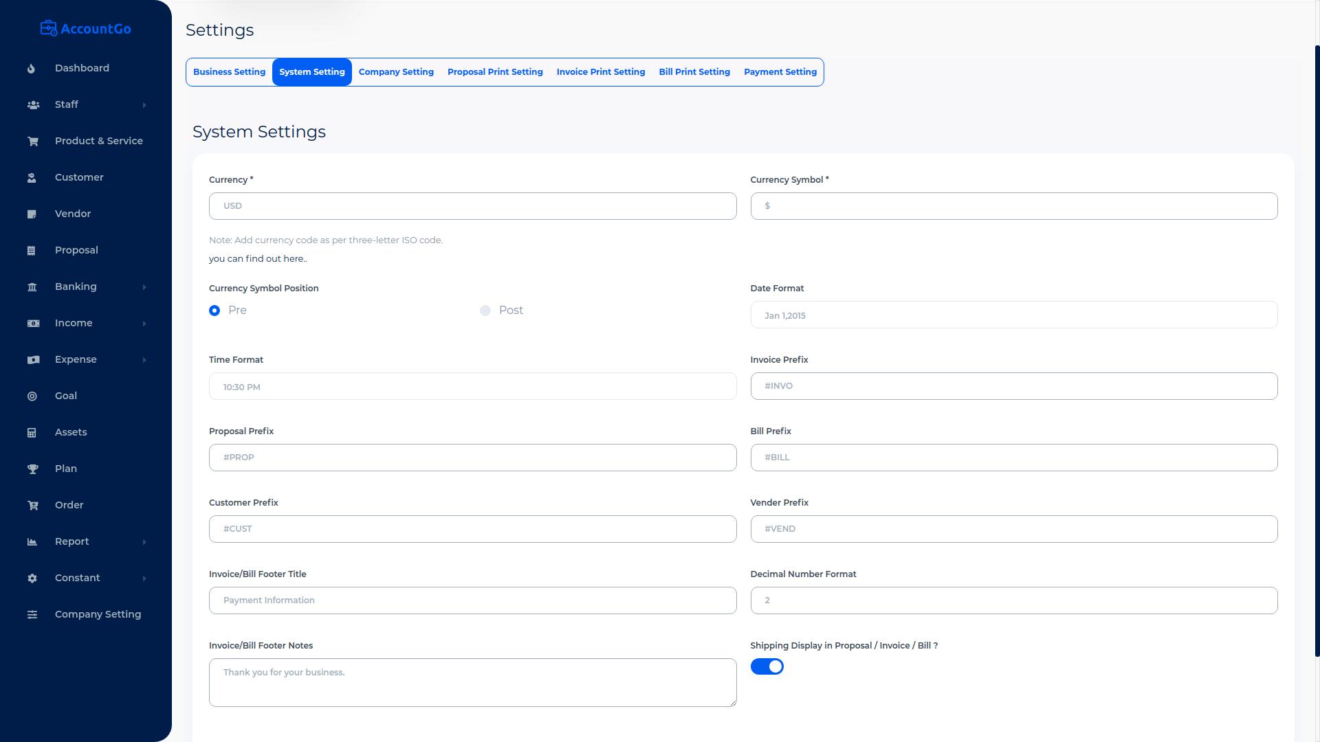 AccountGo SaaS - Accounting and Billing Tool - 15