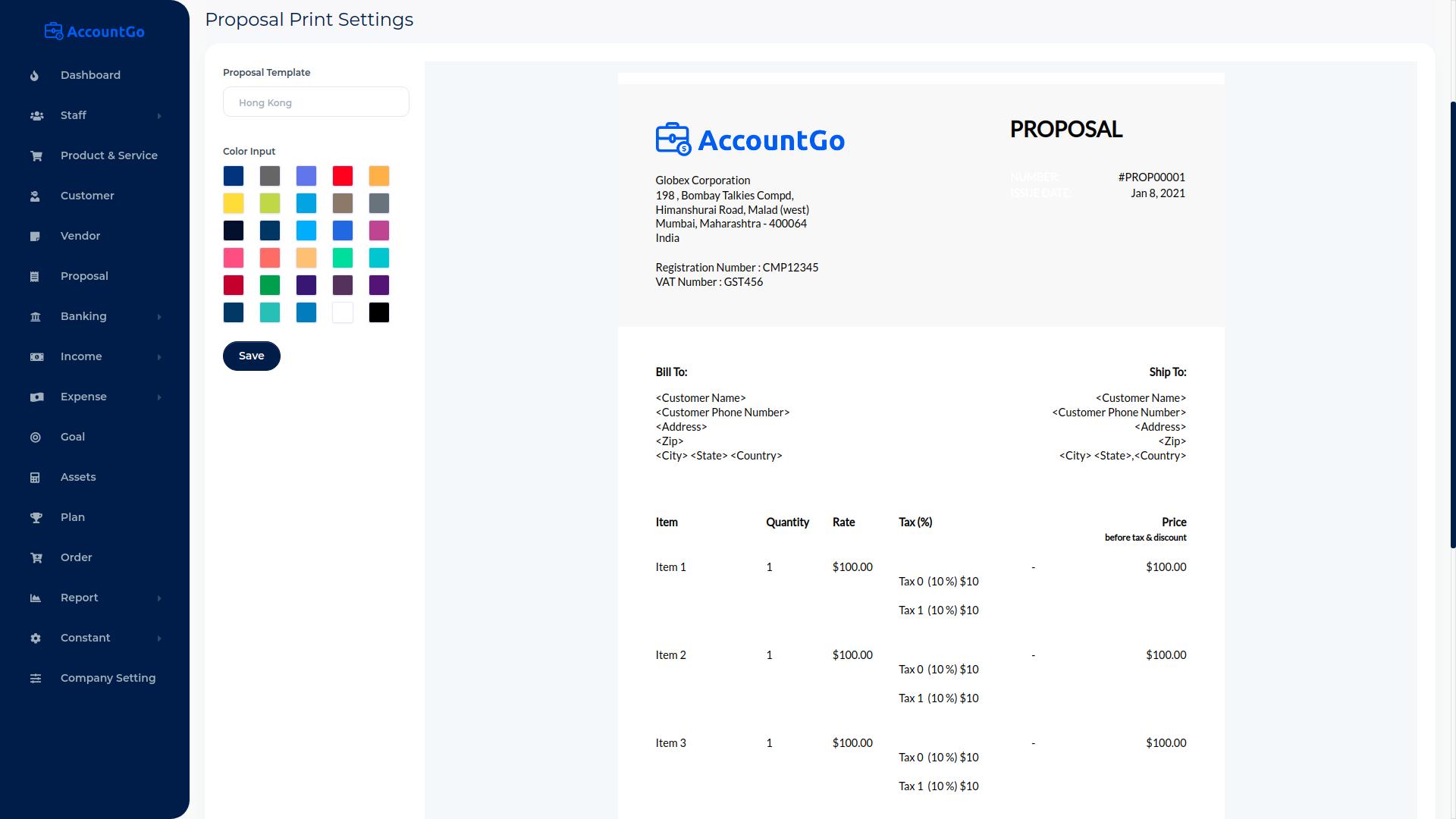 AccountGo SaaS - Accounting and Billing Tool - 16