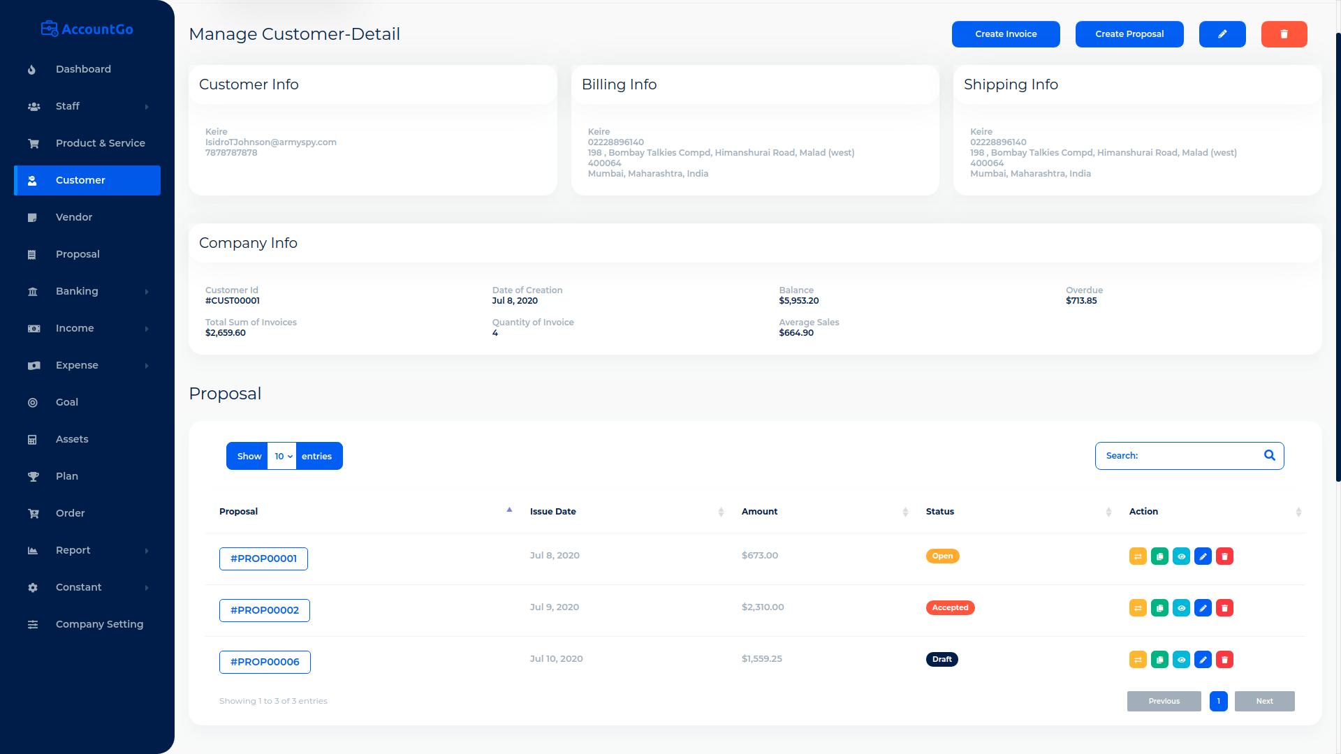 AccountGo SaaS - Accounting and Billing Tool - 9