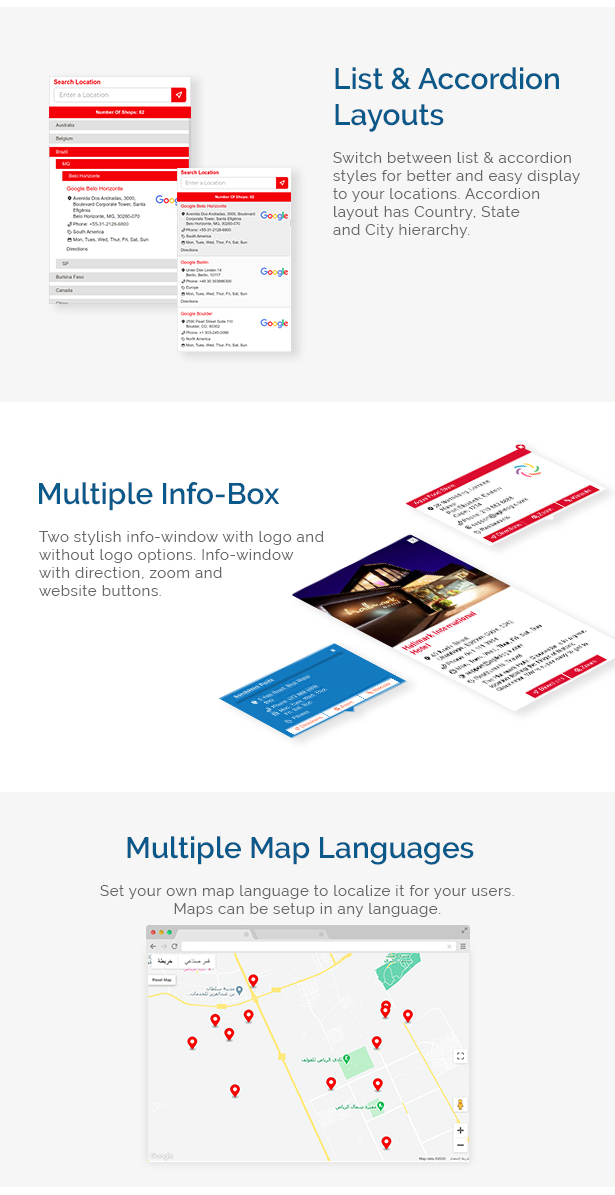 Store Locator (Google Maps) For WordPress - 7