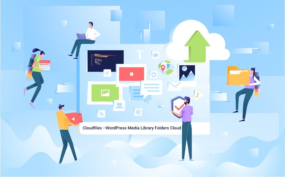 Cloudfiles – WordPress Media Library Folders Cloud