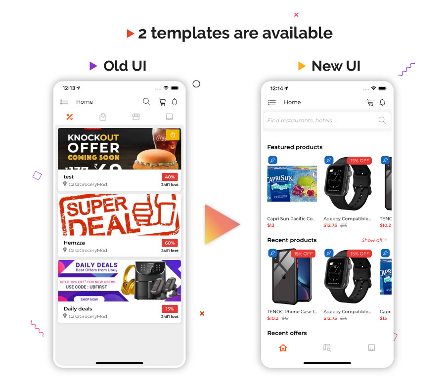 Dealfly - E-commerce & multi-vendors marketplace,Offers, Subscription system - iOS & Android - v2.1 - 5