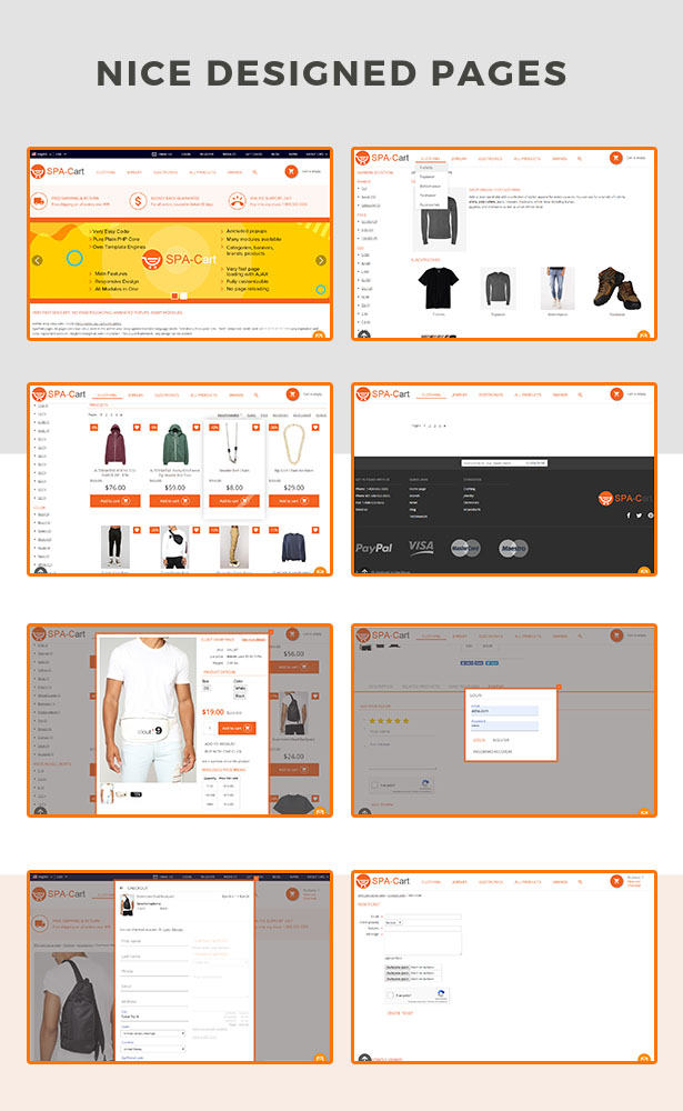SPA-Cart - Single Page Application. Fully featured eCommerce CMS platform. Very fast ajaxfied pages. - 4