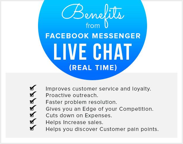 Facebook Messenger Live Chat - Real Time - 8