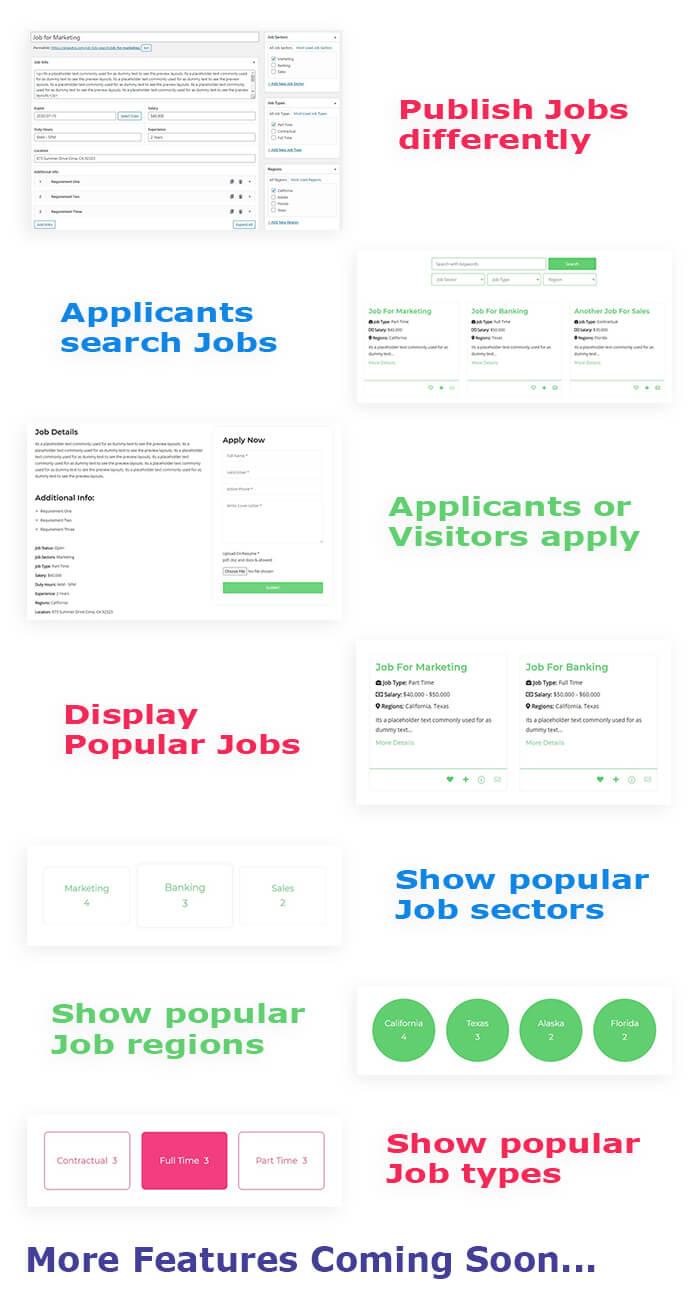 job listing plugin