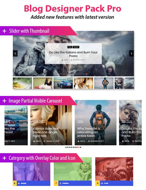 News & Blog Designer Pack Pro - News and Blog Plugin for WordPress and Elementor - 1