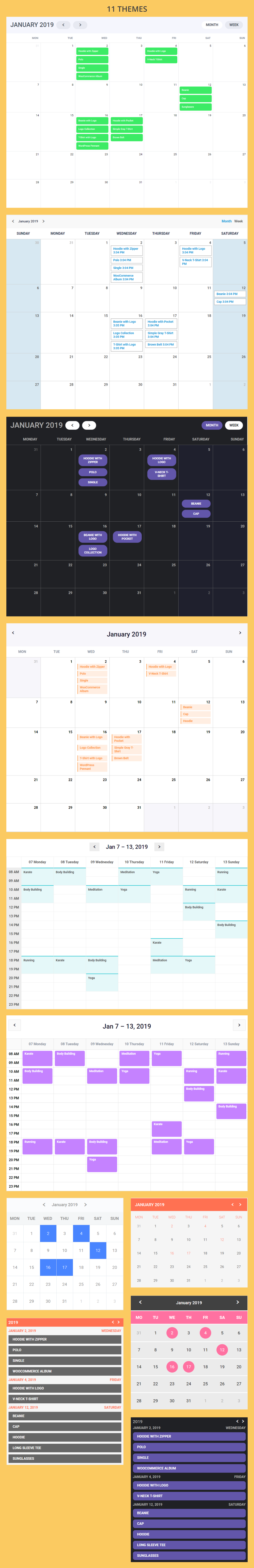 Calendar Anything | Show any existing WordPress custom post type in a calendar - 2