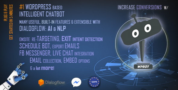 ChatBot for WooCommerce - Retargeting, Exit Intent, Abandoned Cart, Facebook Live Chat - WoowBot - 3