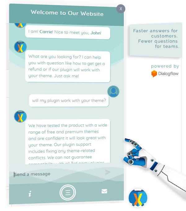 KnowledgeBase Glossary, FAQ & HelpDesk ChatBot - 4
