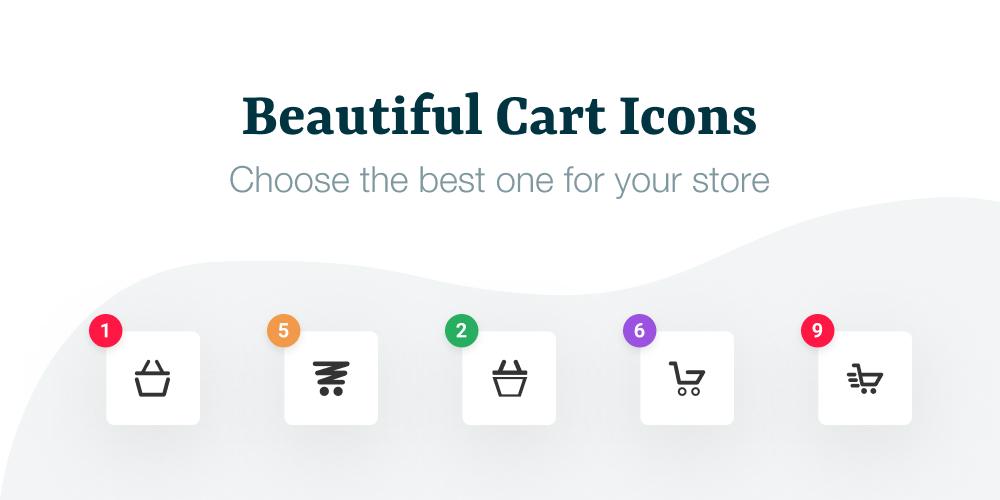 WooCommerce Flying Cart Flying Icons