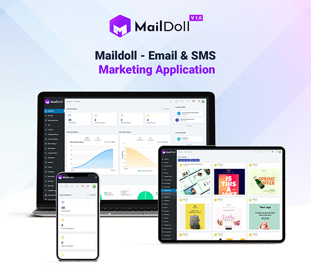 Maildoll - Email & SMS Marketing Application - 5