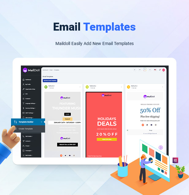 Maildoll - Email & SMS Marketing Application - 16