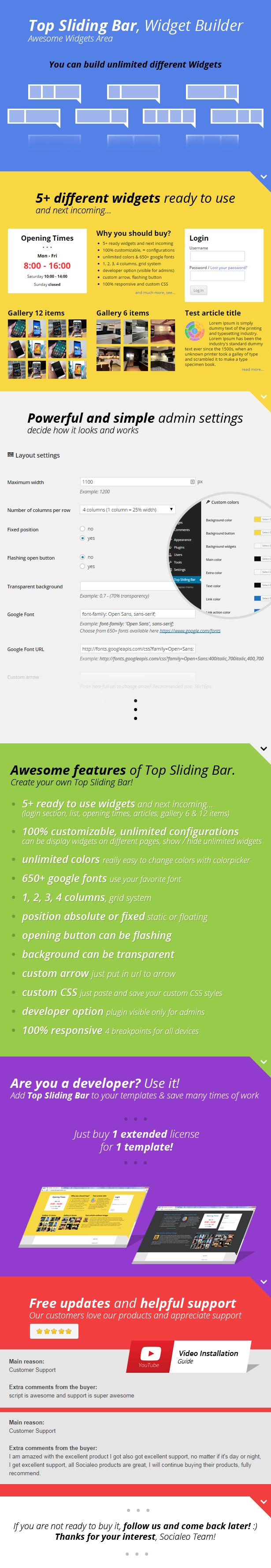 Top Sliding Bar - 2