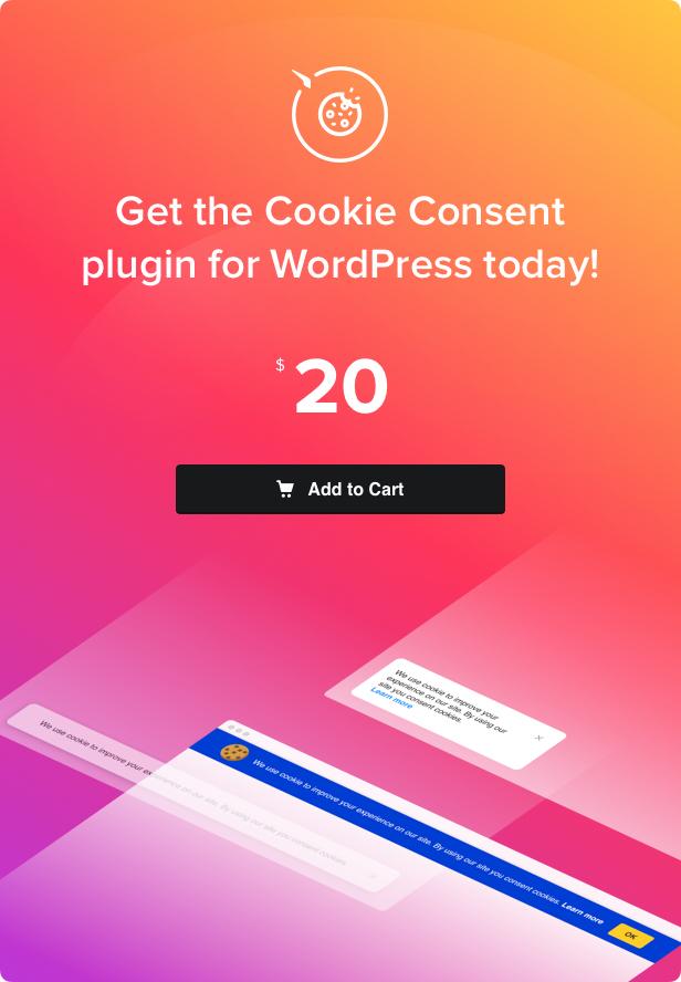 Cookie Consent - WordPress Cookie Plugin - 4