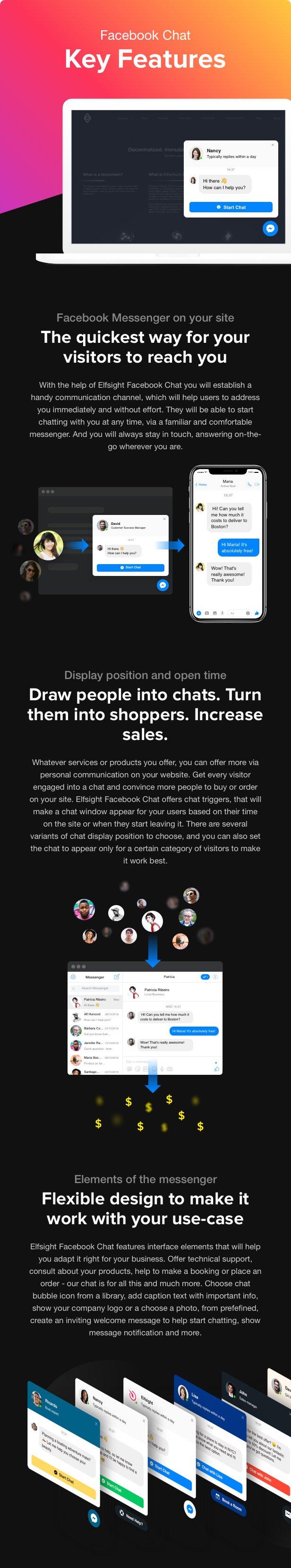 Facebook Chat - Facebook Messenger for WordPress - 1