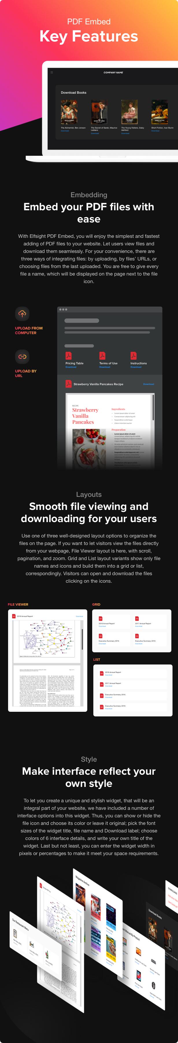 PDF Embed - WordPress PDF Viewer plugin - 1