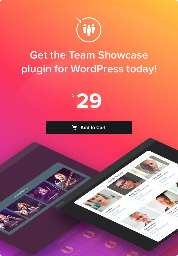 Team Showcase - WordPress plugin - 4
