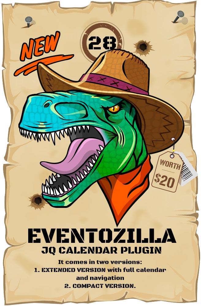 Most Wanted Jquery Plugins Pack -EventoZilla - Event Calendar jQuery Plugin