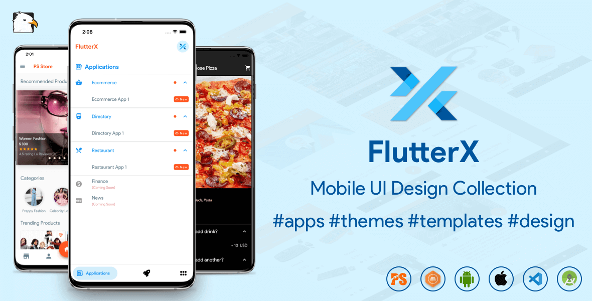 Flutter Store ( Ecommerce Mobile App for iOS & Android with same backend ) 1.7 - 18