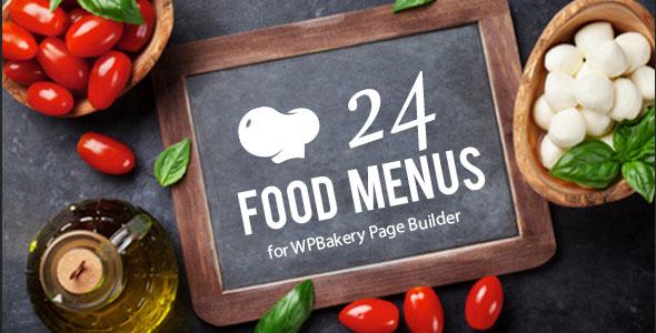 Restaurant Food Menus for WPBakery Page Builder (Visual Composer) - 14