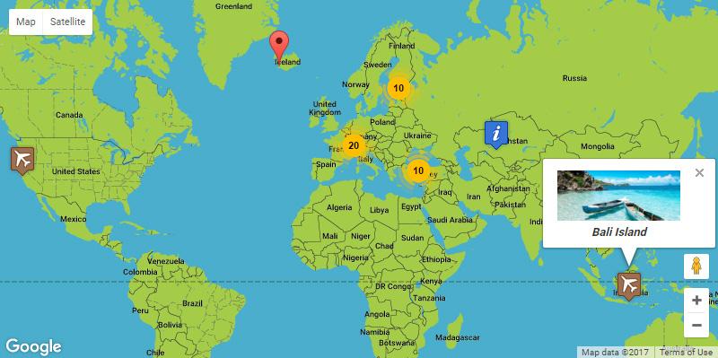 Google Maps - Simple Pins PRO - 2