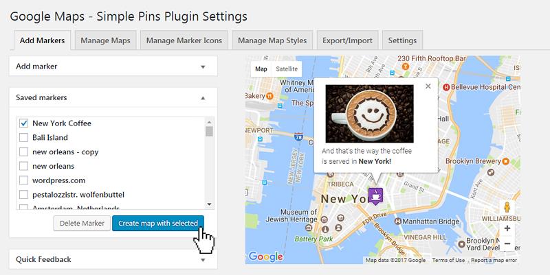 Google Maps - Simple Pins PRO - 10