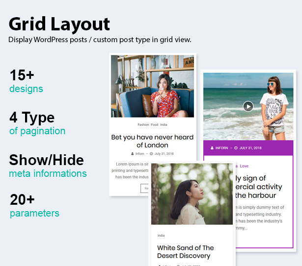News & Blog Designer Pack Pro - News and Blog Plugin for WordPress and Elementor - 7