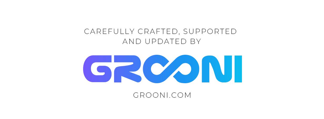 Grooni the author Crane Theme