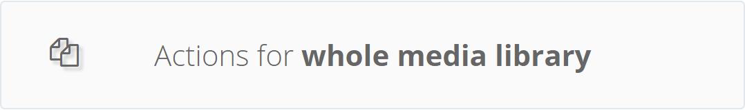 WordPress Real Thumbnail Generator - Bulk Regenerate Thumbnails / Upload folder - 8