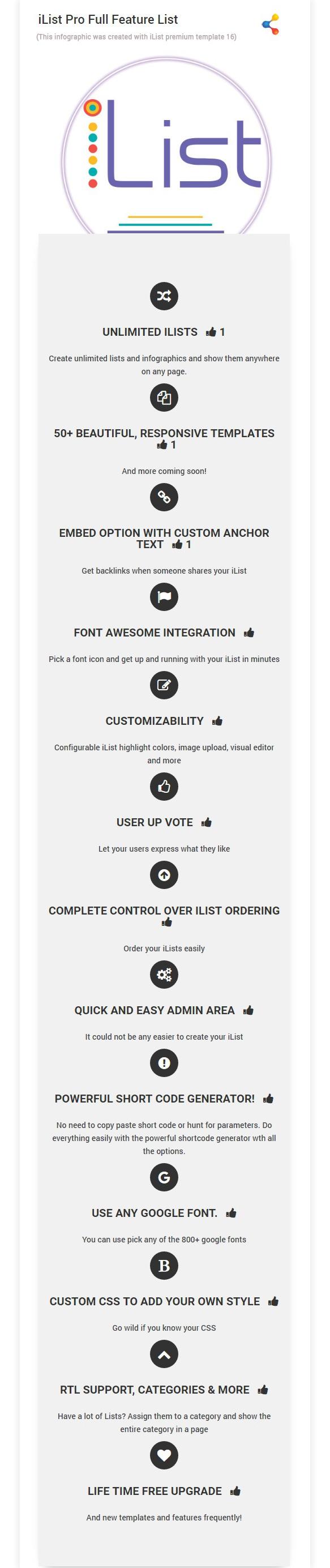 Infographic Maker - iList Pro - 13