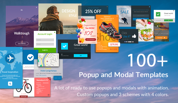 Popup and Modal JS plugin + Builder - Interaction Plus - 2