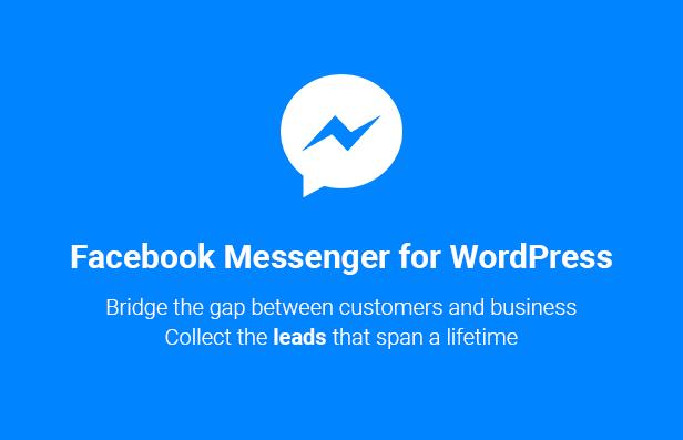 Facebook Messenger for WordPress