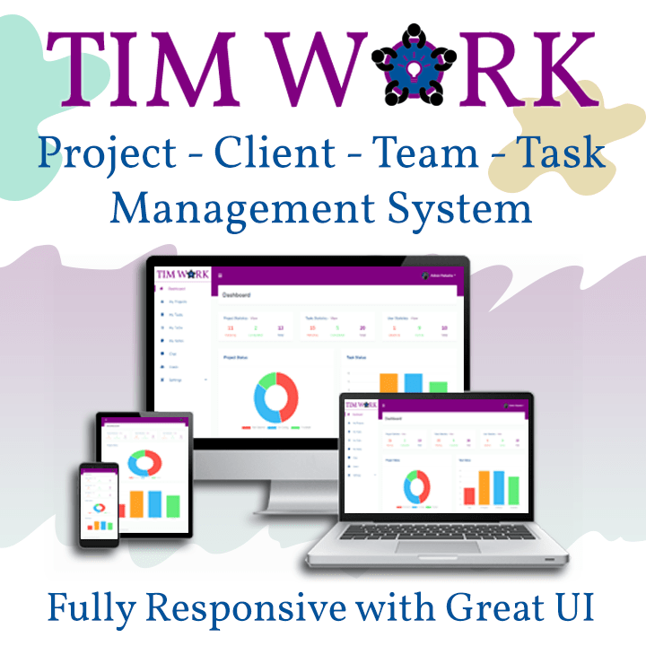TimWork SaaS - Project Management Tool
