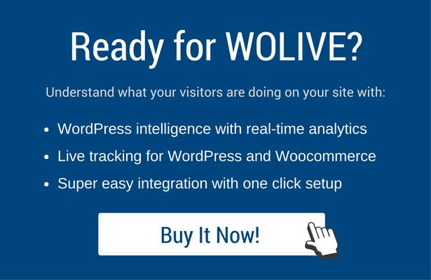 Wolive - Visitor Tracker Analytics Plugin for WordPress & WooCommerce - 9