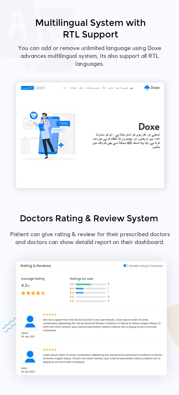 Doxe - SaaS Doctors Chamber, Prescription & Appointment Software - 4