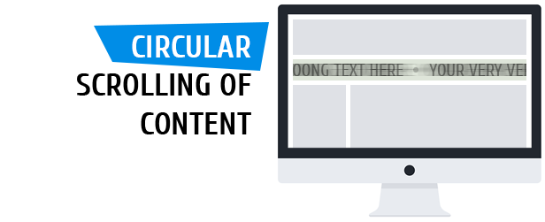 liMarqueeWP - horizontal and vertical scrolling of text and image and html code - 2