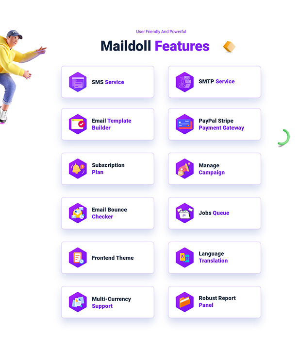 Maildoll - Email & SMS Marketing Application - 8