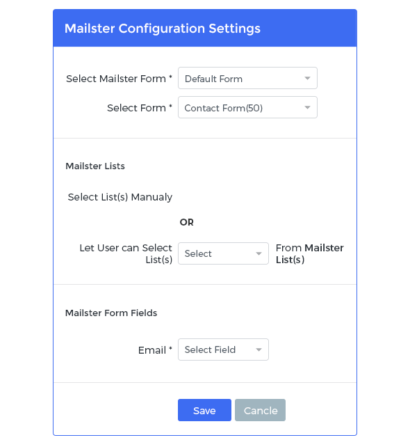 Mailster Integration with Arforms - 2